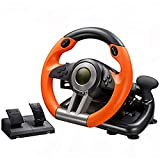 GLX Computer-Spiel-Lenkrad-Simulation Racing Simulation Fahrschule Auto-Unterstützung Für PC / PS3 / PS4 / X-ONE Spiel-Lenkrad Set Mit Pedalen