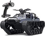 Moerc 2,4 GHz IPX4 wasserdichte RC Army Crawler Fahrzeug RC-Tank Große Radiogesteuerte Modell Fernbedienung Panzer Tank Rotate 360 Watching Elektroauto Spielzeug Für Erwachsene und Kinder