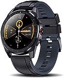 Smart Watch Damen,Yocuby elegant&stilvoll Smart Watch Fitness Tracker mit IP68 wasserdicht/Weibliches Periodenwerkzeug/SMS-Anrufbenachrichtigung/Schlaf-Herzfrequenz-Monitor Android iOS