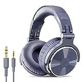 OneOdio Over Ear Kopfhörer mit Kabel, Studio Headphone mit 6,3mm & 3,5 mm Klinke, Geschlossene DJ Kopfhörer mit 50mm Treiber, Bassklang für Podcast, Laptop, Handy, PC, MP3/4