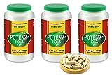 VITAIDEAL ® POTENZHOLZ (Muira puama, Ptychopetalum Olacoides) 3x360 Kapseln je 450mg, aus rein natürlichen Kräutern, ohne Zusatzstoffe von NEZ-Diskounter