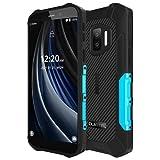 OUKITEL WP12 PRO Android 11 Outdoor Smartphone ohne Vertrag(Leicht Gewicht), Quad Core 4GB+64GB, 4000mAh Akku, 5,5' HD+ Bildschirm, 13MP Dreifachkamera(Unterwasser),IP68 IP69K Robust-Handy NFC Blau