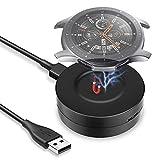 KIMILAR Kabel Kompatibel mit Samsung Galaxy Watch 42mm / 46mm / Gear S3 Ladekabel, Ladegerät USB Daten Ladestation Tragbar Magnetisch Cradle Dock für Watch 46mm/42mm/Gear S3 Smartw