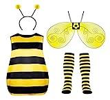 Seawhisper Kostüm Damen Bienen Faschingskostüme Karneval Halloween Kostüm 38 40 42