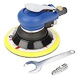 EFFACER Rundschleifer, geräuscharmer Stabiler Luftschleifer für die Automobilindustrie für Möbel(6 Inch)