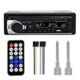 DAUERHAFT Auto Bluetooth MP3-Player Freisprecheinrichtung Auto FM Radio MP3-Player Auto FM Radio MP3-Player USB für jedes Audioformat, Aux Audio-Eingang