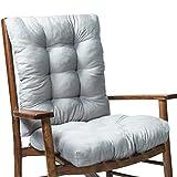 Nevay Sonnenliegenauflage Classic Garten Terrasse Dicke Stuhlauflage Holz Liege Weiche Pads Outdoor Stühle Lounge Sitz Relaxer Kissen