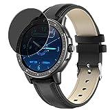 Vaxson Anti Spy Schutzfolie, kompatibel mit Smartwatch Smart Watch CF19, Displayschutzfolie Bildschirmschutz Privatsphäre Schützen [nicht Panzerglas] Privacy S