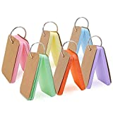 Dproptel Mini-Memory-Wortkarte, Memo-Karte, Lernkarten, Mini-Blanko-Karteikarten, bunte Karte, Kraftpapier-Notizblöcke mit Metall-Ring, 300 Stück, 6 Farben