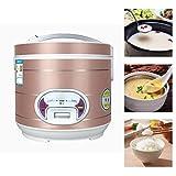 Mini-Reiskocher Reiskocher (5 l / 900 W / 220 V) Premium-Innentopf Warmhalten Reis für bis zu 3-8 Personen zum Kochen von Reis Haferbrei