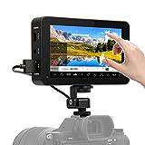 Desview R6, Kamera-Monitor-DSLR-Field-Touchscreen 2800 nits, 5,5 Zoll UHB 3D-Lut, HDR, Externer Feldmonitor 1920x1080 Bildschirm Display Screen, 4K HDMI für Canon Nikon Panasonic Sony