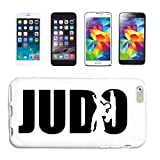Reifen-Markt Handyhülle kompatibel mit Samsung Galaxy S4 i9500 Judo Kampfsport JUDOANZUG Ringen JUDOUNTERRICHT Hardcase Schutzhülle Handy Cover Smart Cover