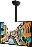 Fleximounts TV Deckenhalterung Schwenkbar Neigbar Fernseher Halterung Monitorhalterungen Fernsehhalterung LED LCD Halter (32-65 Zoll)