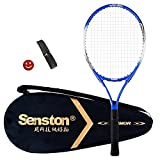 Senston Tennisschläger 19/23/25 One-Piece-Design Tennis Schläger Set mit Tennistasche,Overgrip,Vibrationsdämpfer