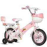 Lqdp Laufräder Laufrad Laufräder für 3 Jährige, 12 Zoll Kleinkinderfahrrad mit verstellbarem Sitz, Einräder für Jungen/Mädchen Geburtstagsgeschenk