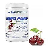 ALLNUTRITION Hero Pump   420g je Packung   Geschmack: Kirsche / cherry   Pre Workout Training Fitness Focus Booster Citrullin Kreatin   Nahrungsergänzungsmittel