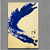Drucke Malerei Kunst Yves Klein Anthropometrie Prinzessin Helena Moderne Leinwand Wandkunst Bild für Wohnkultur-50x70cmx1pcs -No Frame