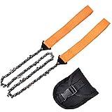 -kettensäge, Folding Handsäge Camping Säge Für Holz Schneiden Wandern Überlebens-Armband Backpacking Emergency Kit Orang