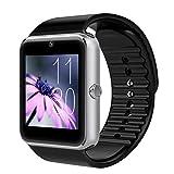 GT08 Unisex Smart Watch mit Kamerafunktion Sport Armband Bluetooth Mann Frau Armbanduhr