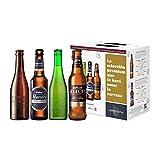 6 * 330ml Bier-Spezialitäten | Verkostungsset spanisches bier | Kleine Bier Geschenkidee Geschenkidee für Eltern zum Geburtstag Einzugsgeschenk lustige Geschenke Geschenkidee Männer Frauen