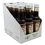 12er Pack Exzellent Worcester Sauce Dresdner Art (12 x 140 ml), Worcestersauce, Würzsoße, Gewürzsoße