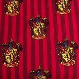 Stoff, Harry-Potter-Motiv, 100% Baumwolle VISF58 Harry Potter – Gryffindor Red