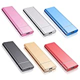 Externe Festplatte 1tb,Type C USB 3.1 Tragbare Festplatte extern für PC, Mac, MacBook, Desktop, Chromebook, Laptop (1tb, schwarz)