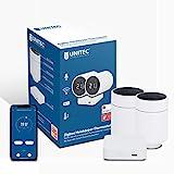 UNITEC ZIGBEE Smart Heizkörper-Thermostat Starter Set 2+1 mit LCD Display, automatische Temperatursteuerung