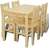 Moderne minimalistische Eiche Esstische und Stühle, Wohnzimmer, Küche fünf Sätze von Massivholztische und Stühle aus,W