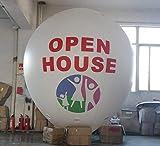 Air-Ads Aufblasbarer Ballon in Wassertropfenform, 3,5 m, Werbeballon, mit Logo (PVC)