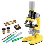 Longrep Upgraded Kindermikroskop 100X / 400X / 1200X Wissenschaftliches Experimentierspielzeug Für Kinder Und Anfänger