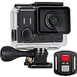ACME VR302 Action Cam 4k 60fps Unterwasser Kamera Wasserdicht HD WLAN Breitwinkelobjektiv 170⁰ Schwarz