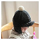 Seupeak Hüte Baby Produkte Zubehör Baby Mädchen Warme Ohrkappe Winter Weiche Mütze Hut Ohrkappe Fuzzy Feste Hut