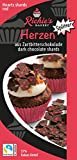 Richie´s Bakery | Schokosplitter | Herzen | Fairtrade | aus Zartbitterschokolade | Splitter zum Dekorieren | passend zum Valentinstag und Muttertag