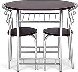 Elegante Sätze von Tischen und Stühlen einen Tisch und zwei Stühle Tische Suite Platz für den Wohnraum zu sparen, Esszimmer, Taverne,Brow