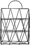 FülleMore Zeitungshalter Magazinhalter aus Metall Wand Tür hängend Zeitungsständer Zeitschriftenständer Tisch Bücherregal für Badezimmer Küche Büro(37.5x25x10cm) (Schwarz)