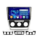 Dscam Android 9.1 Auto Stereo Radio Video Player Für Skoda Octavia 2007-2014, 9 Zoll HD 1024 * 600 Touchscreen Navigation Für Auto, Unterstützung Bluetooth4.0 WiF
