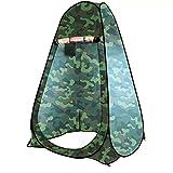 Outdoorzelt Umkleide- und Duschzelt in 6 verschiedenen Designs - perfekt für Camping, Urlaub und Angeln (Style 006 (150x150x190cm))