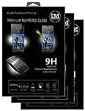 cofi1453 3X Panzer Schutz Glas 9H Tempered Glass Display Schutz Folie Display Glas Screen Protector kompatibel mit Sony Xperia 1 III