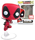 Funko Pop! Marvel X-Men: Leaping Deadpool Collector Corps Exklusive Vinyl-Figur (inklusive Pop-Box-Schutzhülle)