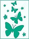Motiv-Schablone ● Schmetterlinge und B