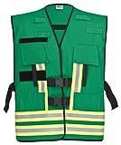 PACOTEX Funktionswesten zur Kennzeichnung von Einsatzpersonal wie z.B. Feuerwehr Warnweste (grün)