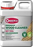 OWATROL – NET-TROL – 1 L – Holzentgrauungs- und -entfettungsmittel für alle Holzarten im Außenbereich Terrassen Gartenmöbel tropisches Holz – Gelförmiger Holzreiniger und Aufheller – biologisch abbaub