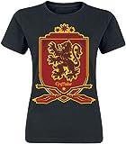 Harry Potter Gryffindor Frauen T-Shirt schwarz M 100% Baumwolle Fan-Merch, Filme, Gryffindor, Hogwarts