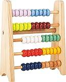 small foot 11168 Kleiner Rechenschieber to go Educate für Kinder und angehende Rechen-Profis Spielzeug, Mehrfarbig