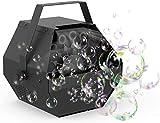 Fetcoi LED RGB SEIFENBLASEN Maschine Seifenblasenmaschine Bubble Maschine Bühnenlicht Kinder DJ Party BubbleMaschine,Bühnenlicht RGB 3-1, Bubblemaker,Bühnenlampen