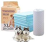 HI FINE CARE Haustierunterlagen für Hunde, Welpenunterlagen für Welpen, verbesserte Qualität, sehr saugfähig, schnell trocknende Oberfläche, starke Wasseraufnahme (3)