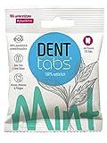 DENTTABS Stevia - Mint Zahnputztabletten mit Fluorid, 1er Pack (1 x 125 Stück)