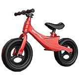 Lqdp Laufräder Laufrad Laufrad für 2 Jahre Alten Jungen, 12 Zoll Kleinkinderfahrrad mit verstellbarem Sitz, Einräder für Jungen/Mädchen Geburtstagsgeschenk