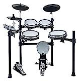 XDrum DD-530 E-Drum Set mit Mesh Heads (elektronisches Schlagzeug, Kopfhörer-Anschluss, 400 Sounds)